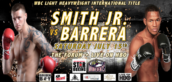 Smith Jr vs Barbera