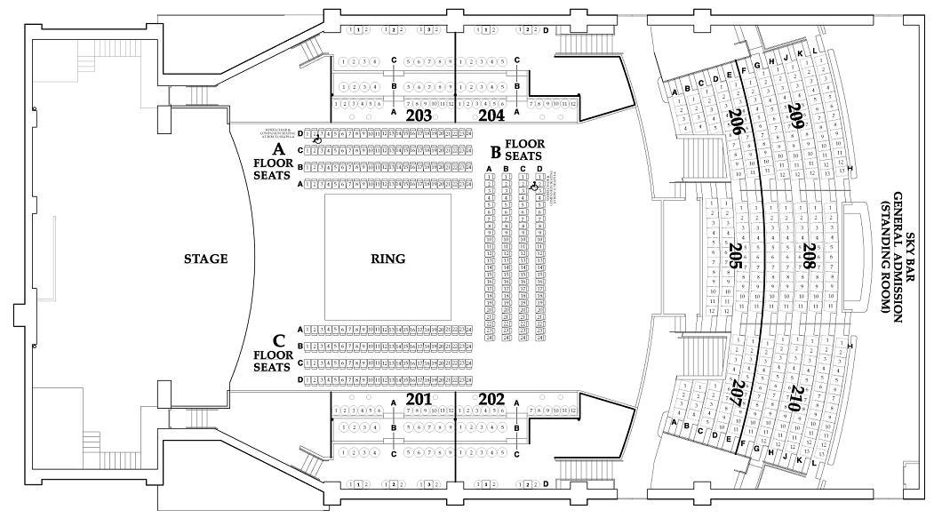Paramount Seating Chart Star Boxing Star Boxing